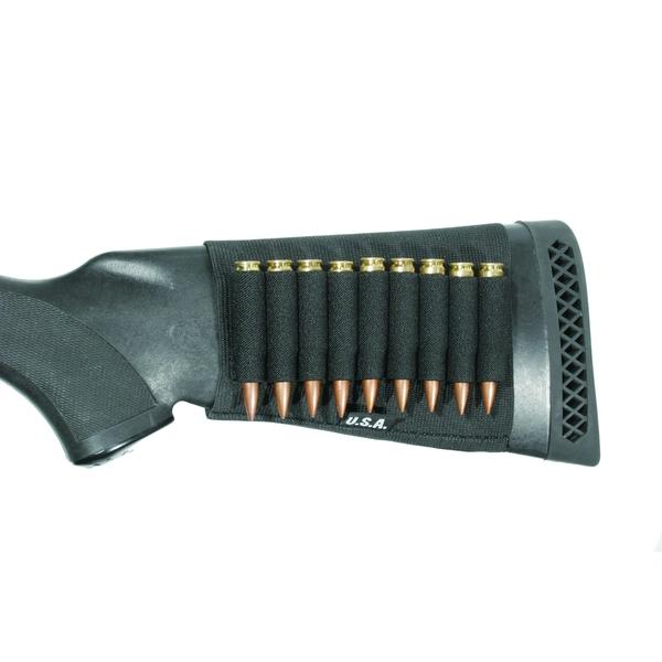 BLACKHAWK ButtStock Shotgun Black Open Shell Holder (74SH02BK)