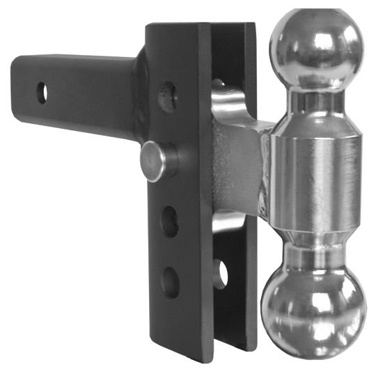 ANDERSEN 4in EZ Adjust Hitch with 2 x 2-5/16in Combo Ball (3290)