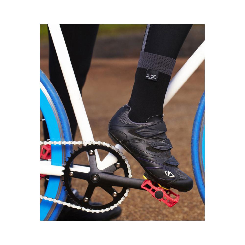 DEXSHELL Coolvent Aqua Blue Stripe Socks (DS628)