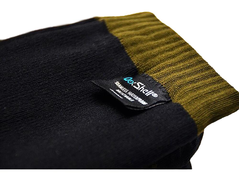 DEXSHELL Trekking Olive Green Stripe Socks (DS636)