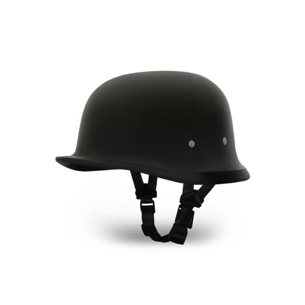DAYTONA HELMETS German Dull Black Helmet (1004B)