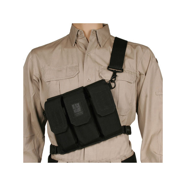 BLACKHAWK 6 Mags Black Rifle Bandoleer (55SOS1BK)