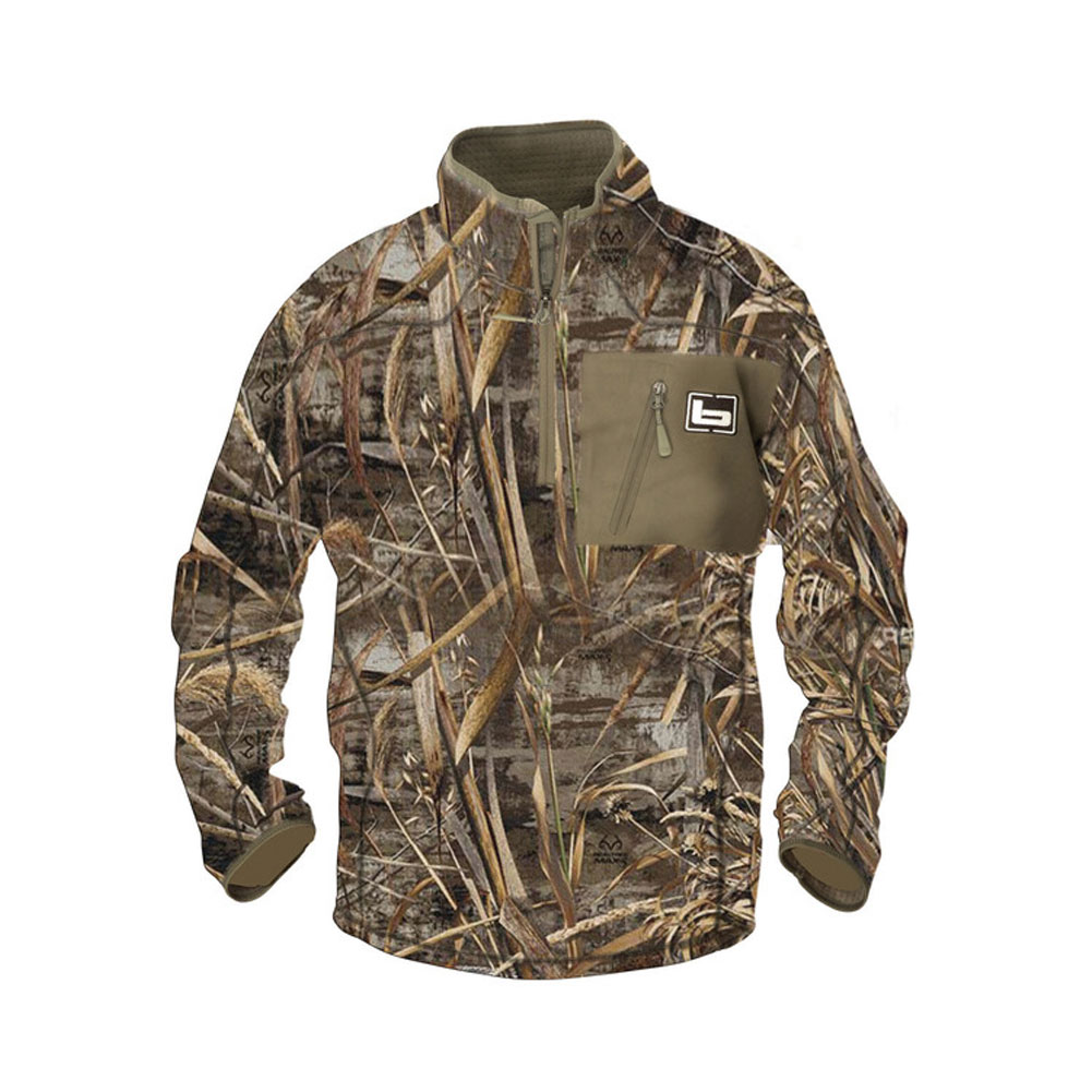 BANDED Mid Layer 1/4 Zip Pullover