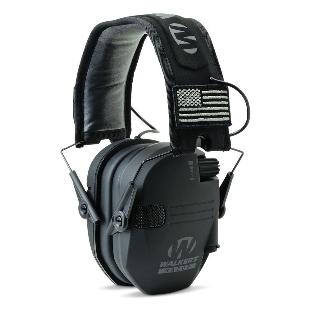 WALKERS GAME EARS Razor Patriot 23 dB Black Earmuff (GWP-RSEMPAT)