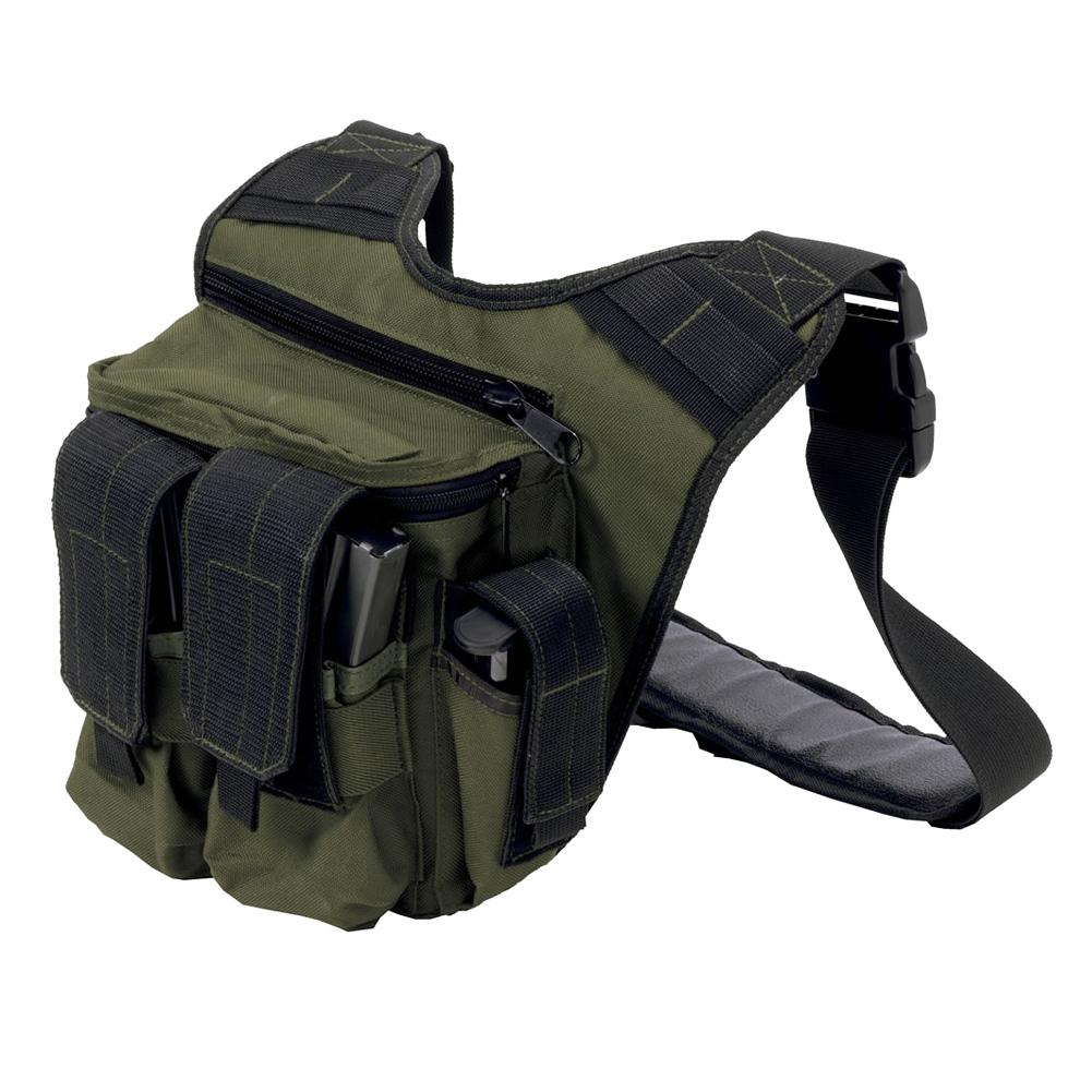US PEACEKEEPER RDP Rapid Deployment Pack OD Green/Black Soft Bag (P20305)