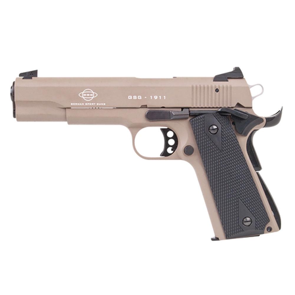 ATI 22 LR 5in Tan Semi-Automatic 1911 Pistol (2210M1911T) thumbnail