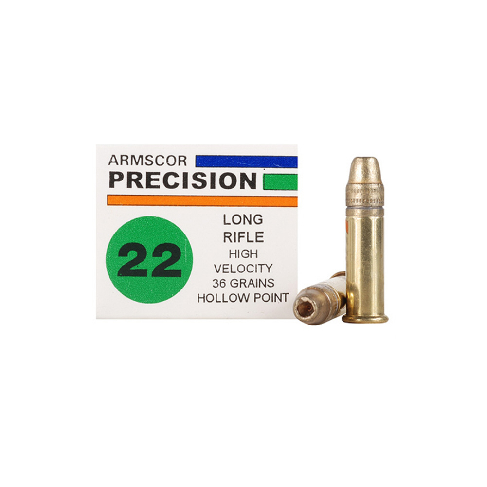 ARMSCOR HVHP 22LR 36 Grain Ammo, 50 Round Box (50015) thumbnail
