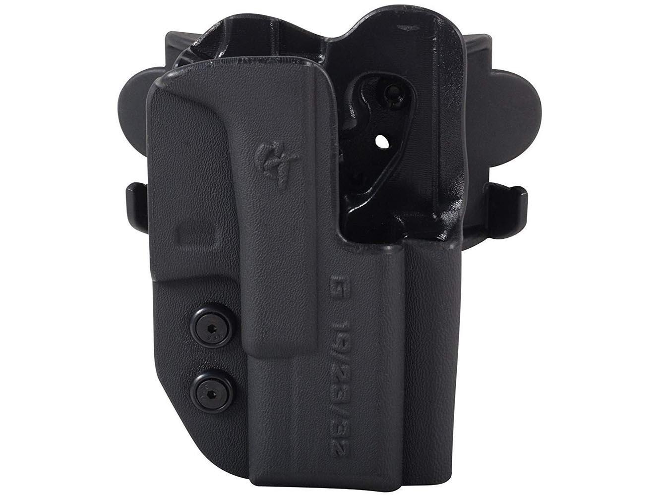 COMP-TAC International OWB  Modular Mount RSC Black Holster For Glock 34/35 Gen 3/4 (C241GL061RBKN)