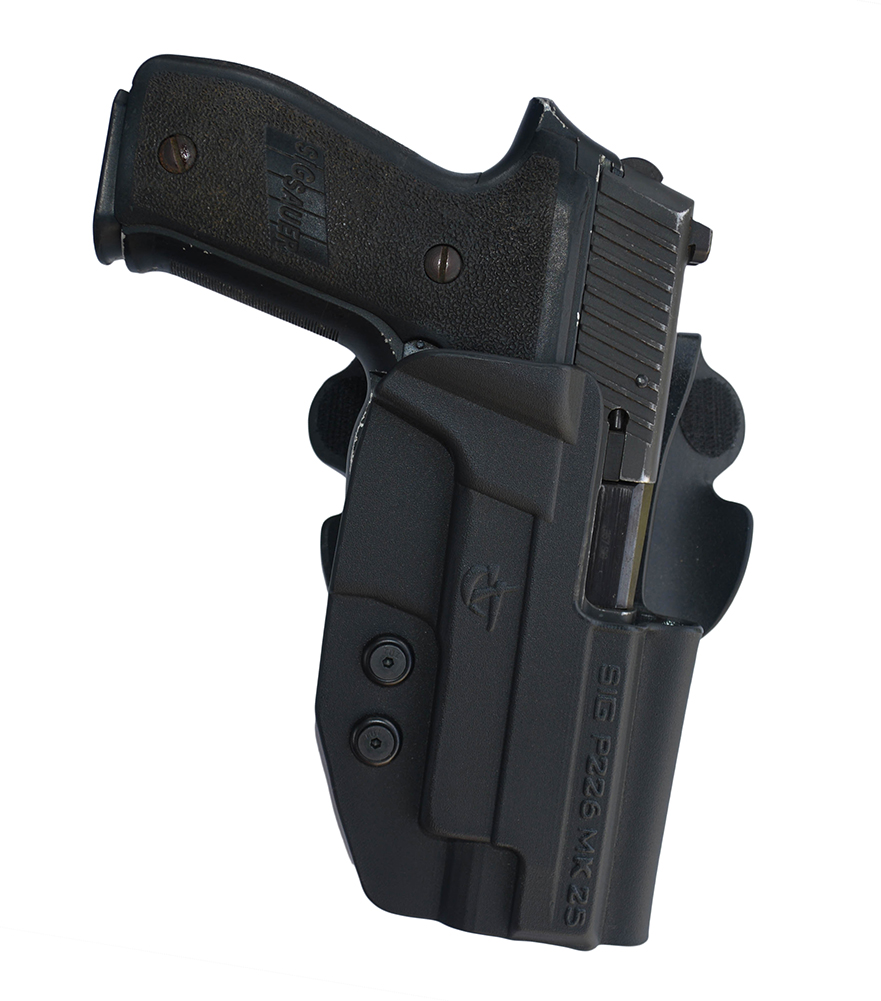 COMP-TAC Paddle OWB Holster For Glock 19/23/32 Gen 1-4 RSC (C212GL051RBKS)