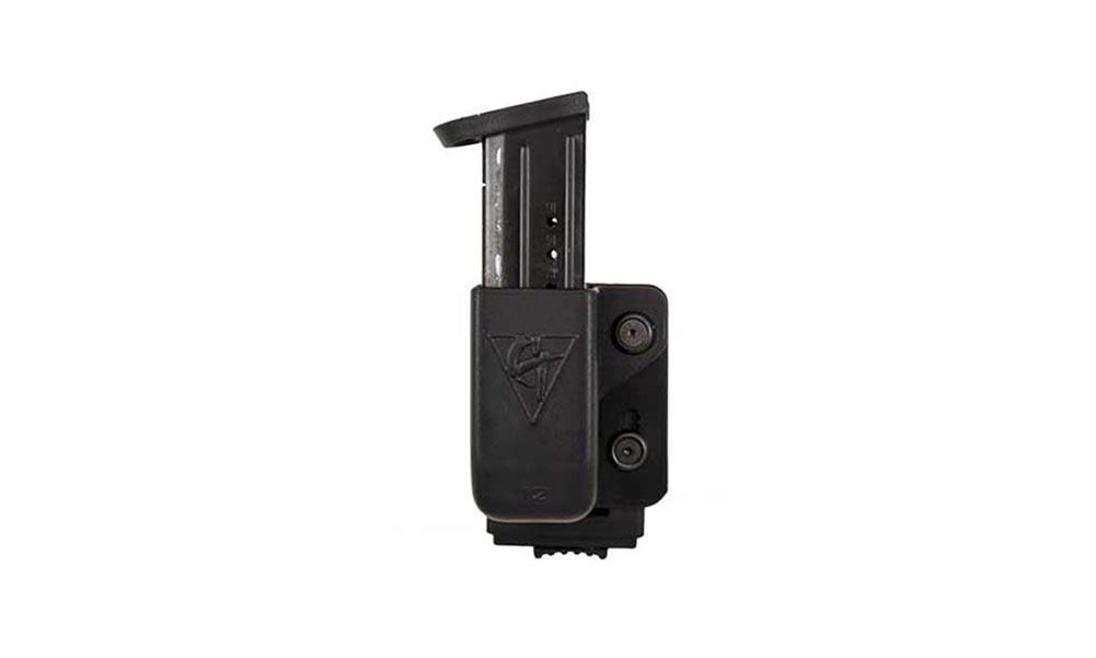 COMP-TAC Single OWB PLM Size11 Beretta 92/96/M9 and Sig P226 9/40 Magazine Pouch (C62211000LBKN)