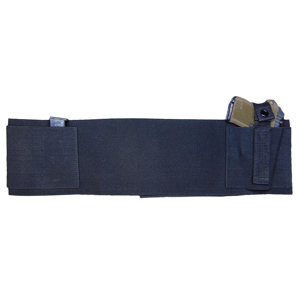 US PeaceKeeper Elastic/Velcro Large Black Belly Band (BELLYBANDL)