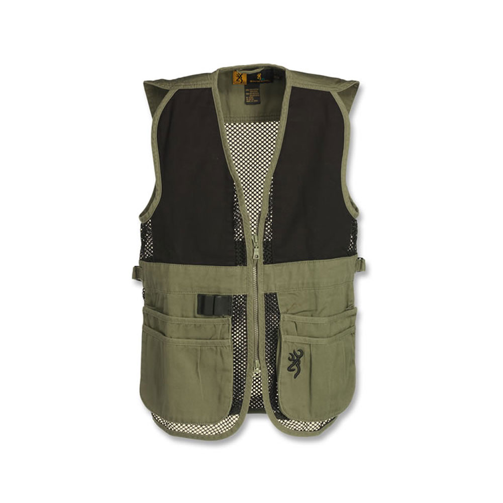BROWNING Junior Trapper Creek Mesh Shooting Vest thumbnail