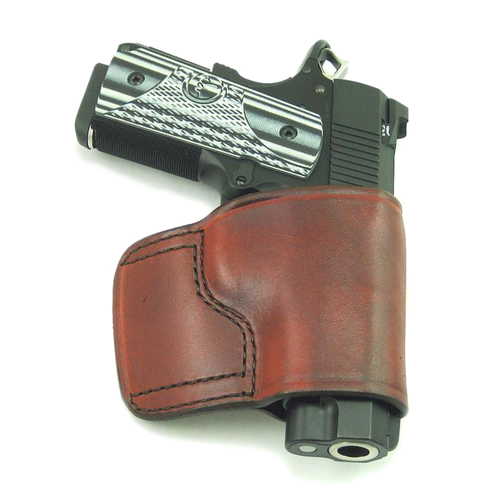 DON HUME JIT Slide Right Hand 1911 Brown Holster (J967000R)