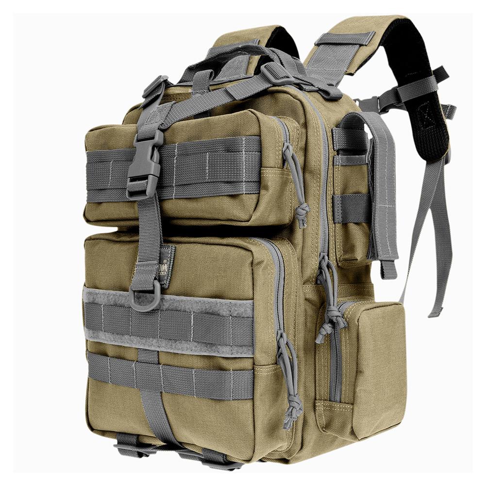 MAXPEDITION Typhoon Backpack, Khaki/Foliage (0529KF)
