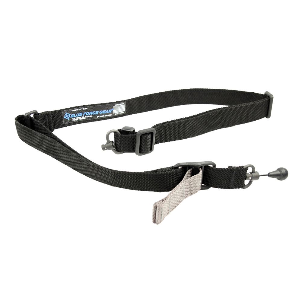 BLUE FORCE Vickers 2-To-1 Red Swivel Black Sling (VCAS-2TO1-RED-125-AA-BK)