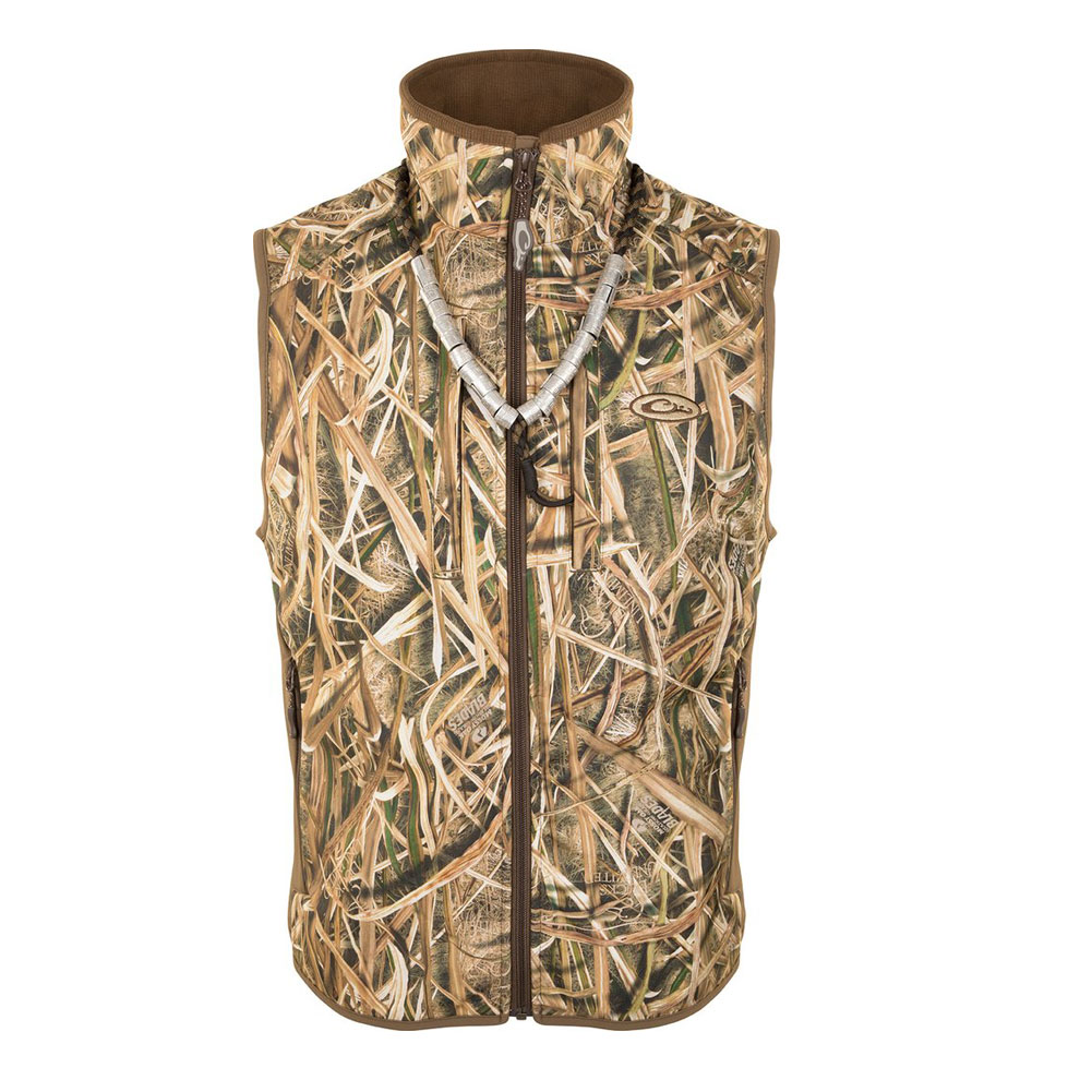 DRAKE EST Camo Windproof Tech Vest