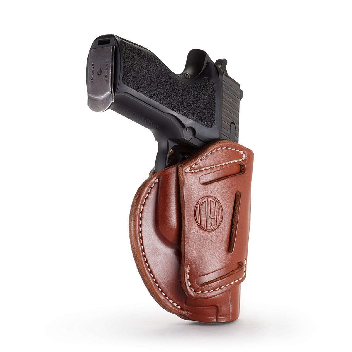 1791 GUNLEATHER 3WH 3 Way Classic Brown size 3 Belt Holster (3WH-3-CBR-A)
