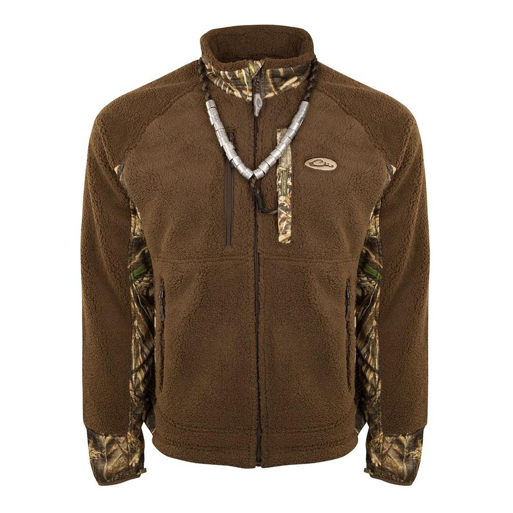 DRAKE MST Sherpa Fleece Hybrid Liner Full Zip Jacket (DW8625)