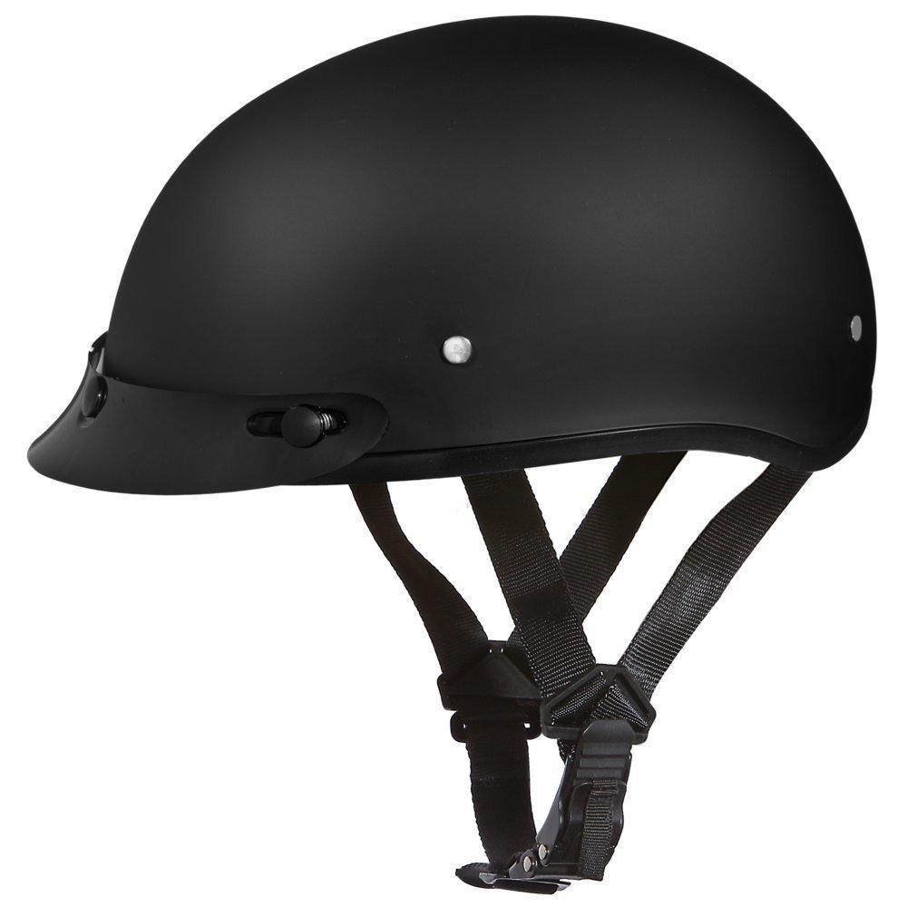 DAYTONA HELMETS D.O.T. Skull Cap Black Helmet