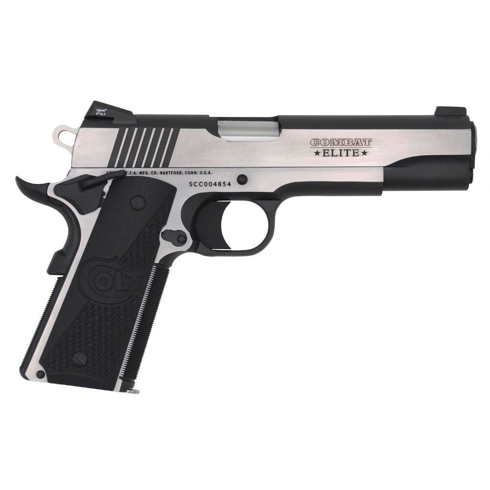 COLT Combat Elite Government 9mm 5in 9rd Two Tone Pistol (O1072CE) thumbnail