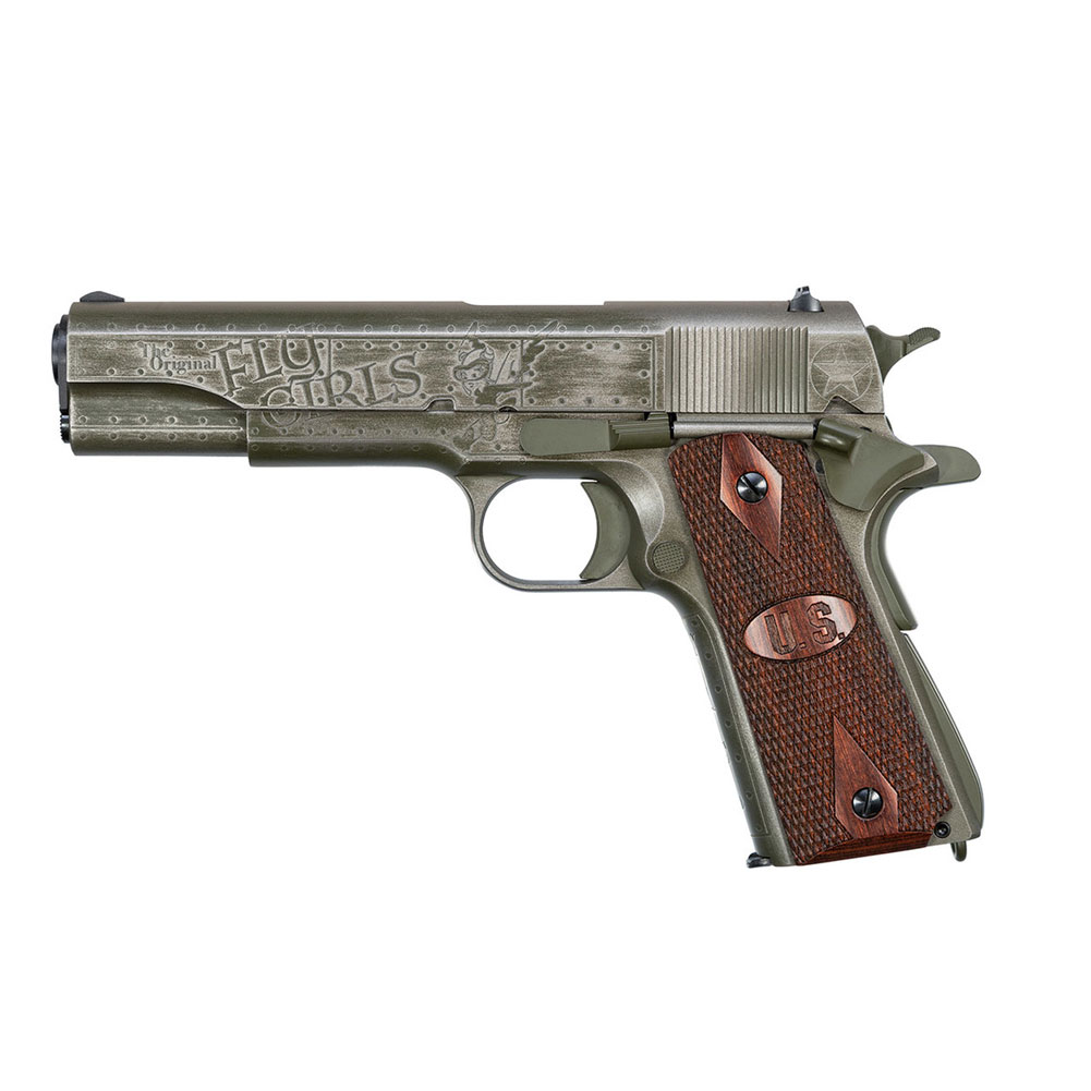 AUTO ORDNANCE 1911 Fly Girls Special Edition WW2 .45 ACP 5in 7rd Semi-Automatic Pistol (1911BKOWC2) thumbnail