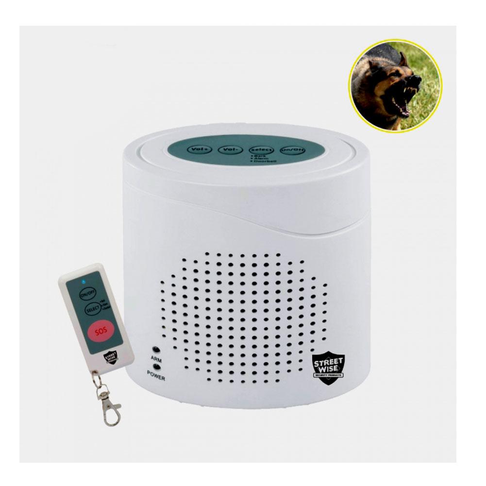 CUTTING EDGE Streetwise Virtual K9 Barking Dog Alarm (SWVK9)