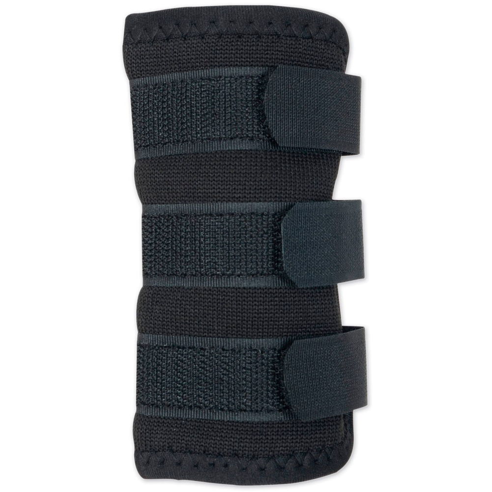 BACK ON TRACK Black Dog Leg Wraps (310100)