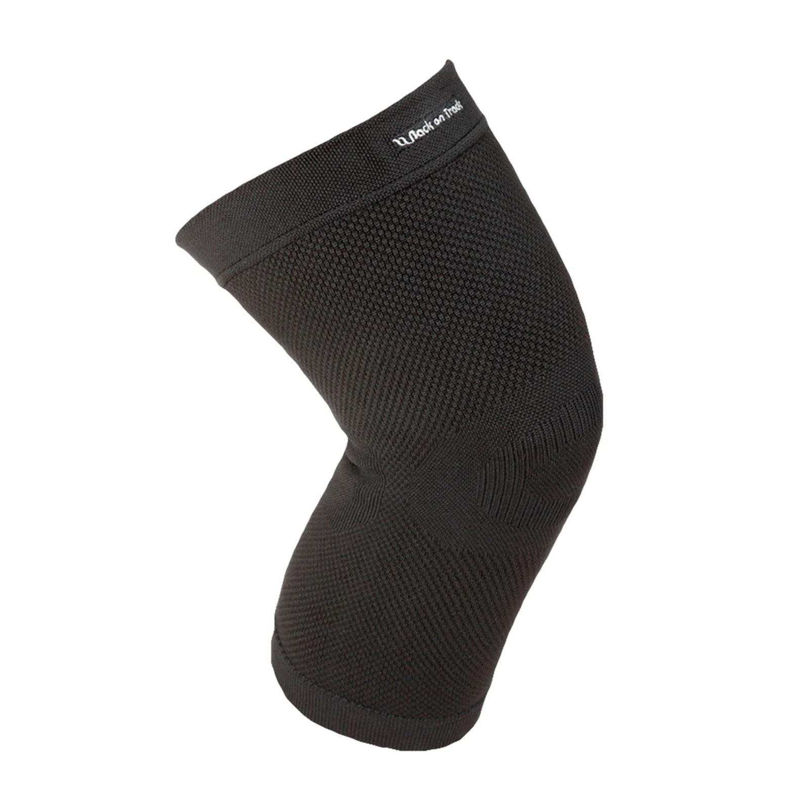 BACK ON TRACK Black Physio Knee Brace (110700)