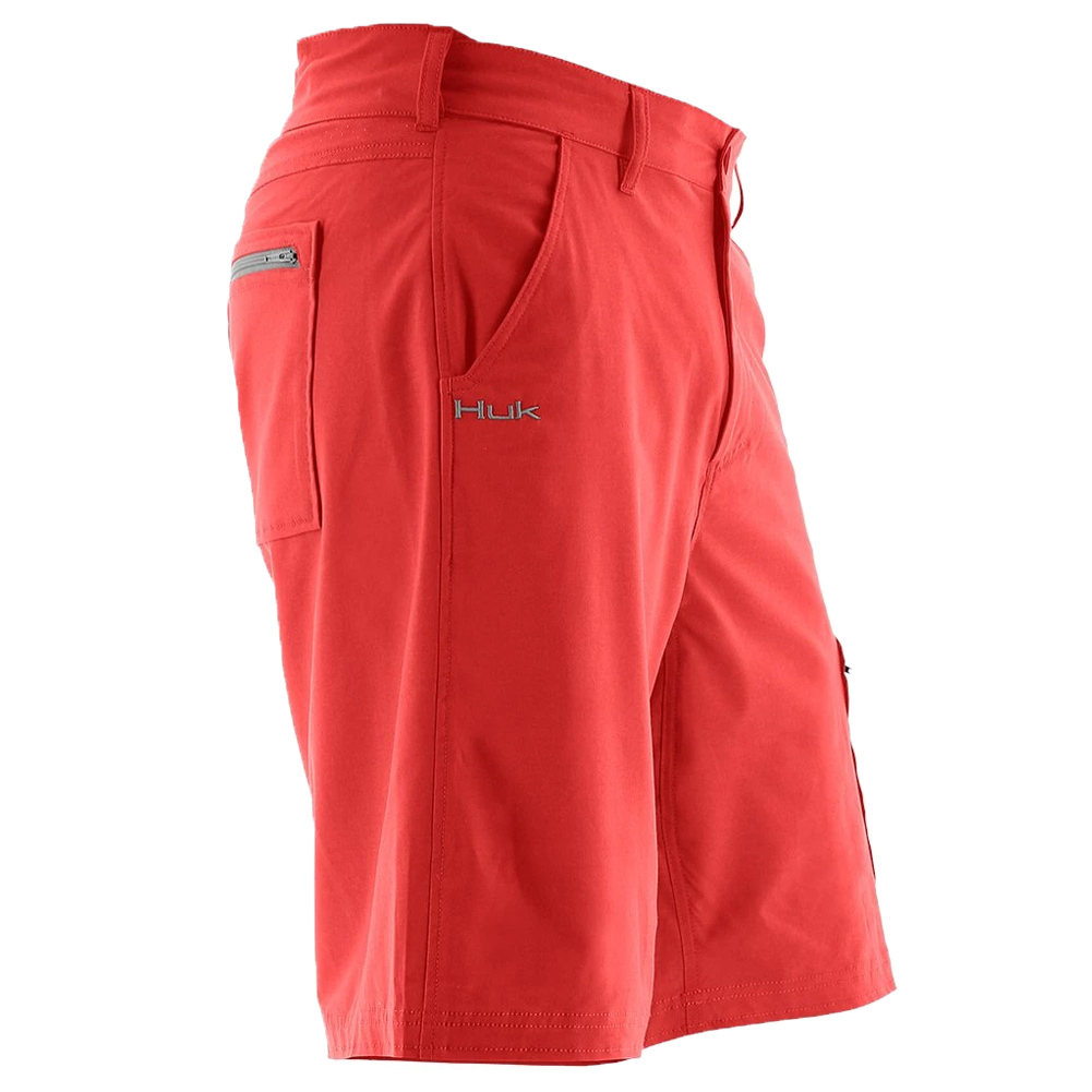 "Huk Nxtlvl 10.5/"" Short Coral H2000011-630 Color"