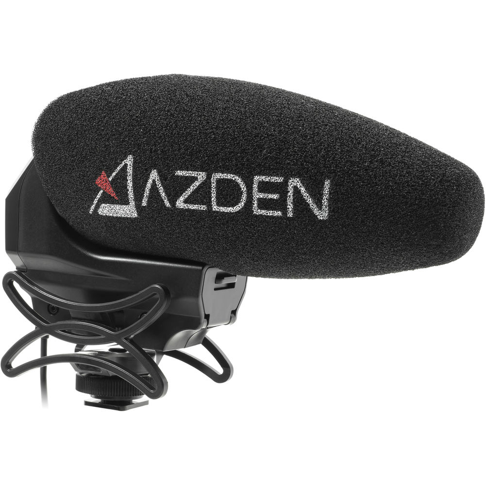 AZDEN SMX-30 Stereo-/Mono-Switchable Video Microphone (SMX-30)