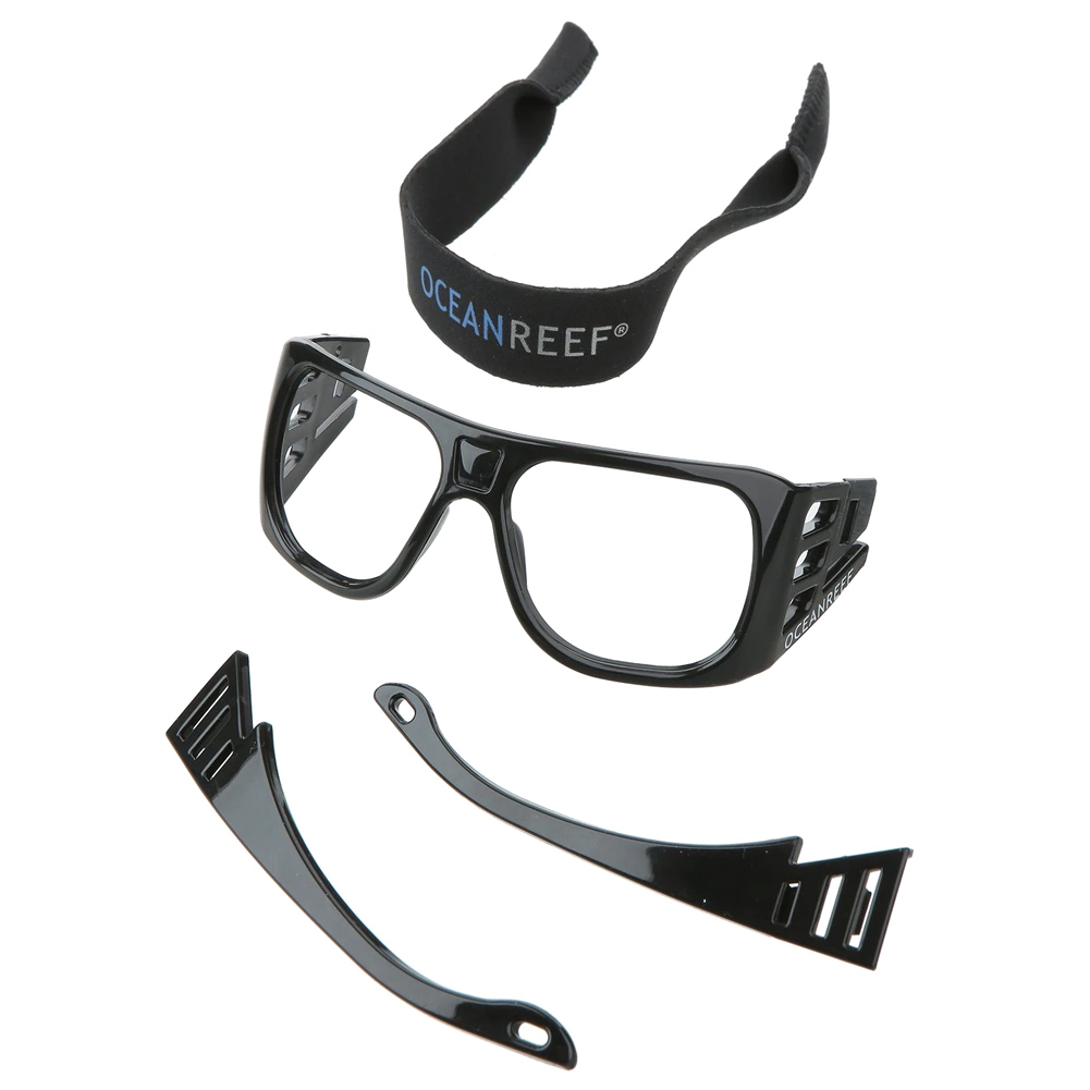 OCEAN REEF Optical Lens Support 2.0, Black (OR033304)