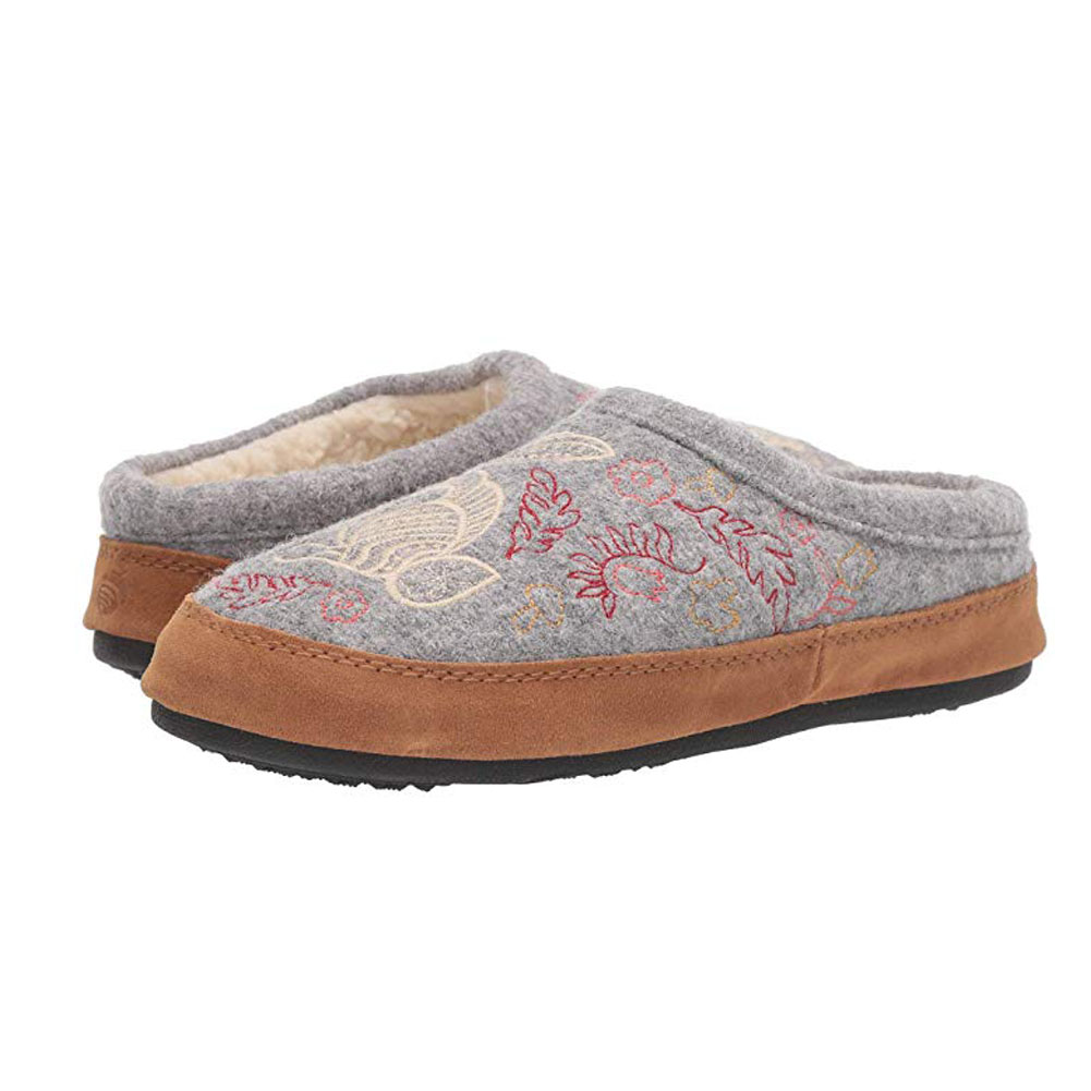 ACORN Womens Forest Mule Slippers