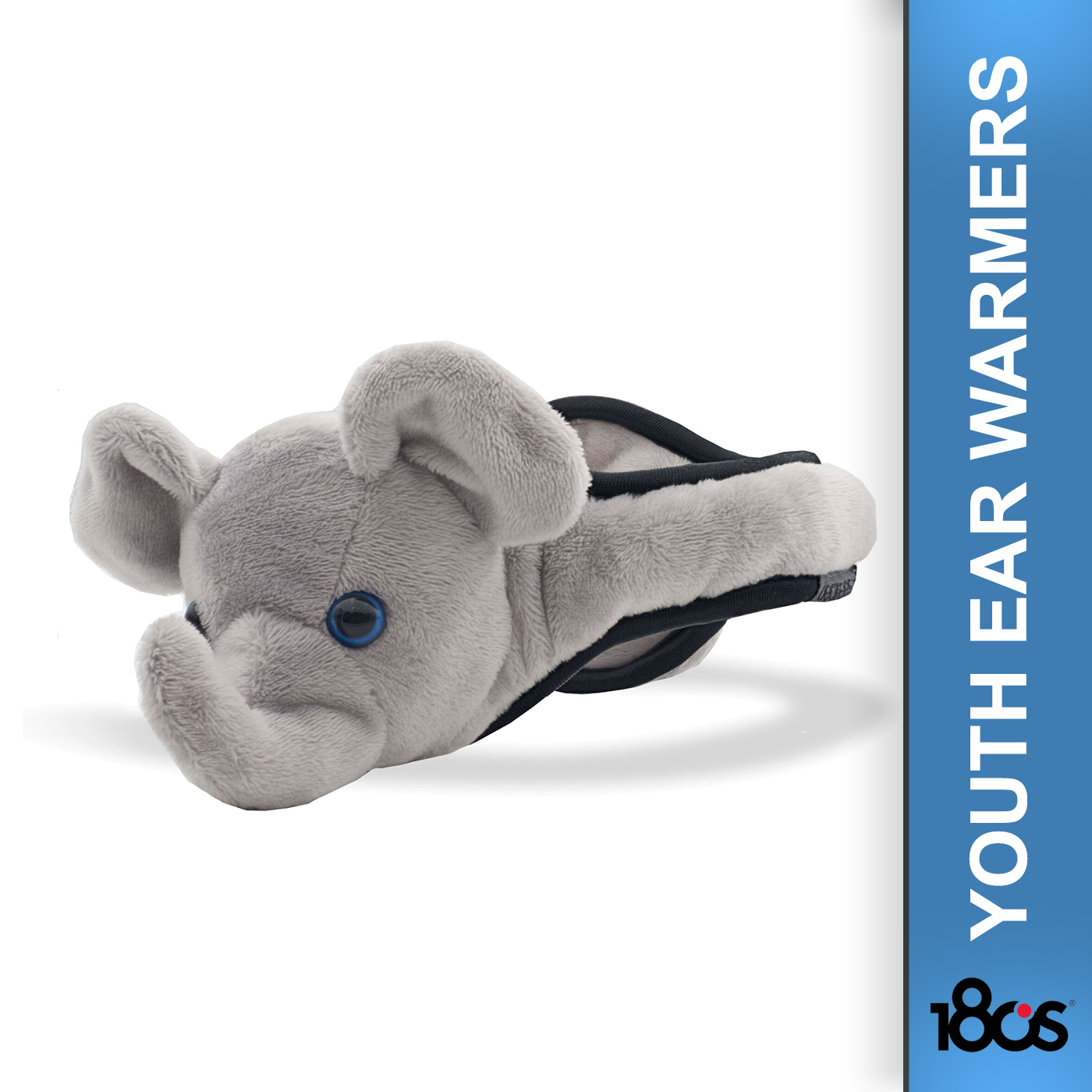 180S Youth Elephant Gray Ear Warmer (41505-926-01)