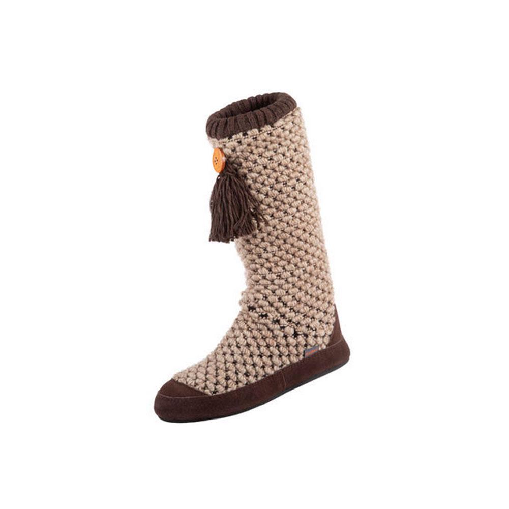 ACORN Womens Jam Tassel Boot Pebble Diamond Slippers (A18626BSAW)