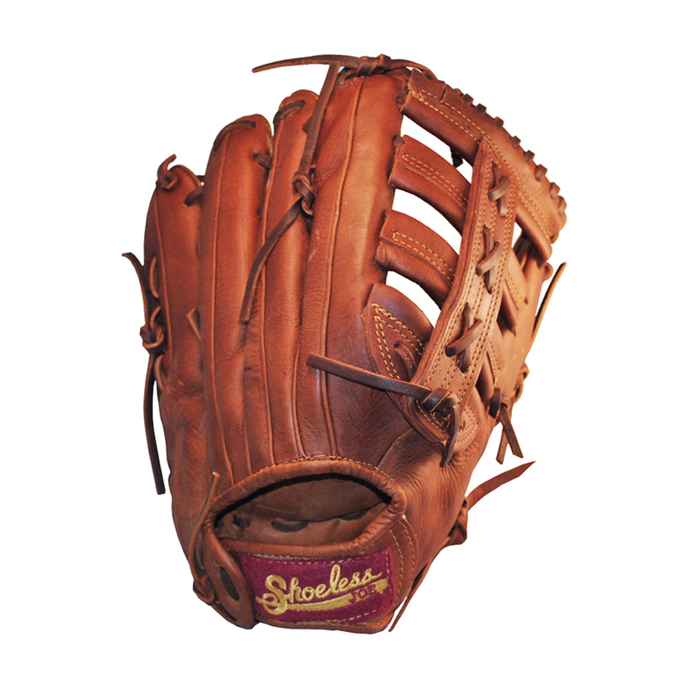 SHOELESS JOE BALLGLOVES 13in Single Bar Pocket Left Hand/Right Hand Throw Glove (1300SB)