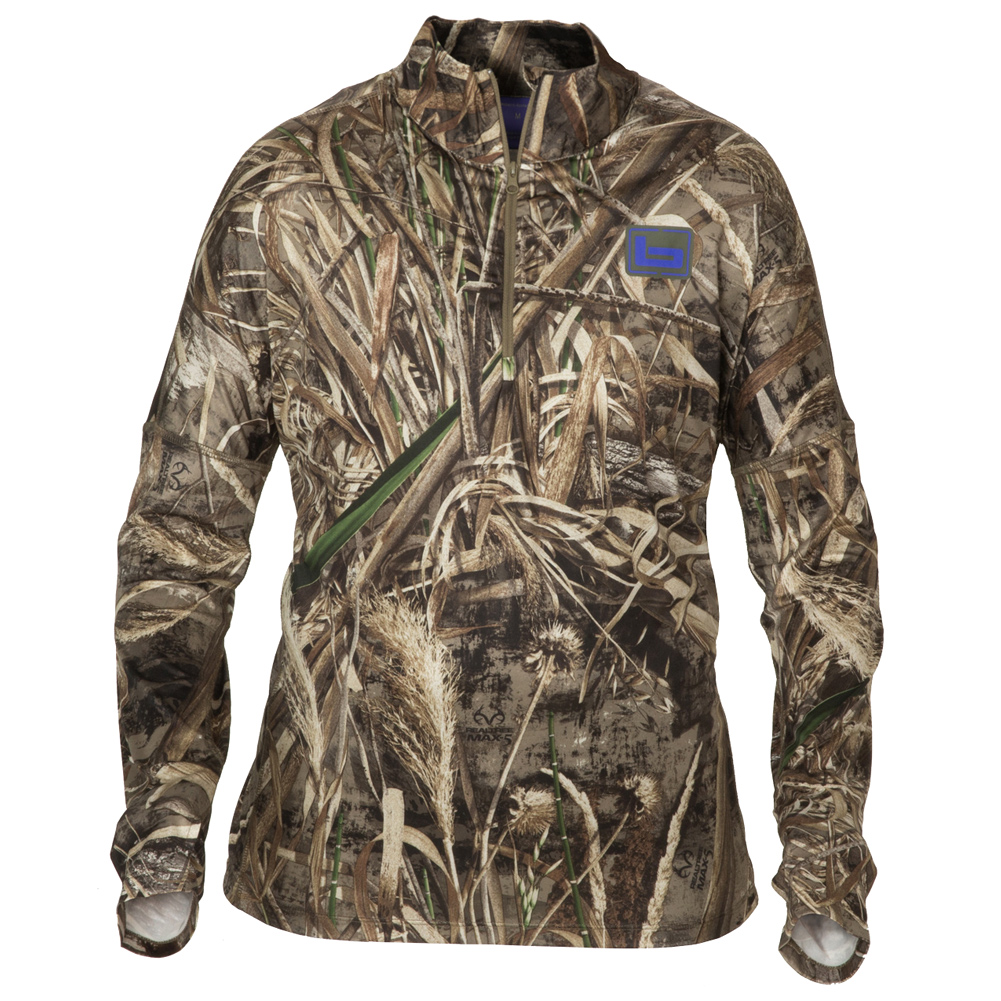 BANDED Women's TEC Stalker 1/4 Zip Realtree Max-5 Pullover (B2010001-M5) thumbnail