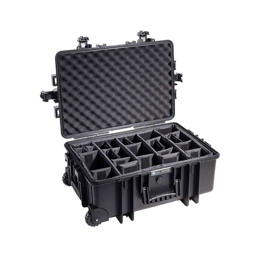 B W International Type 6700 Black Outdoor Case With Rpd Insert 6700 B Rpd Ebay