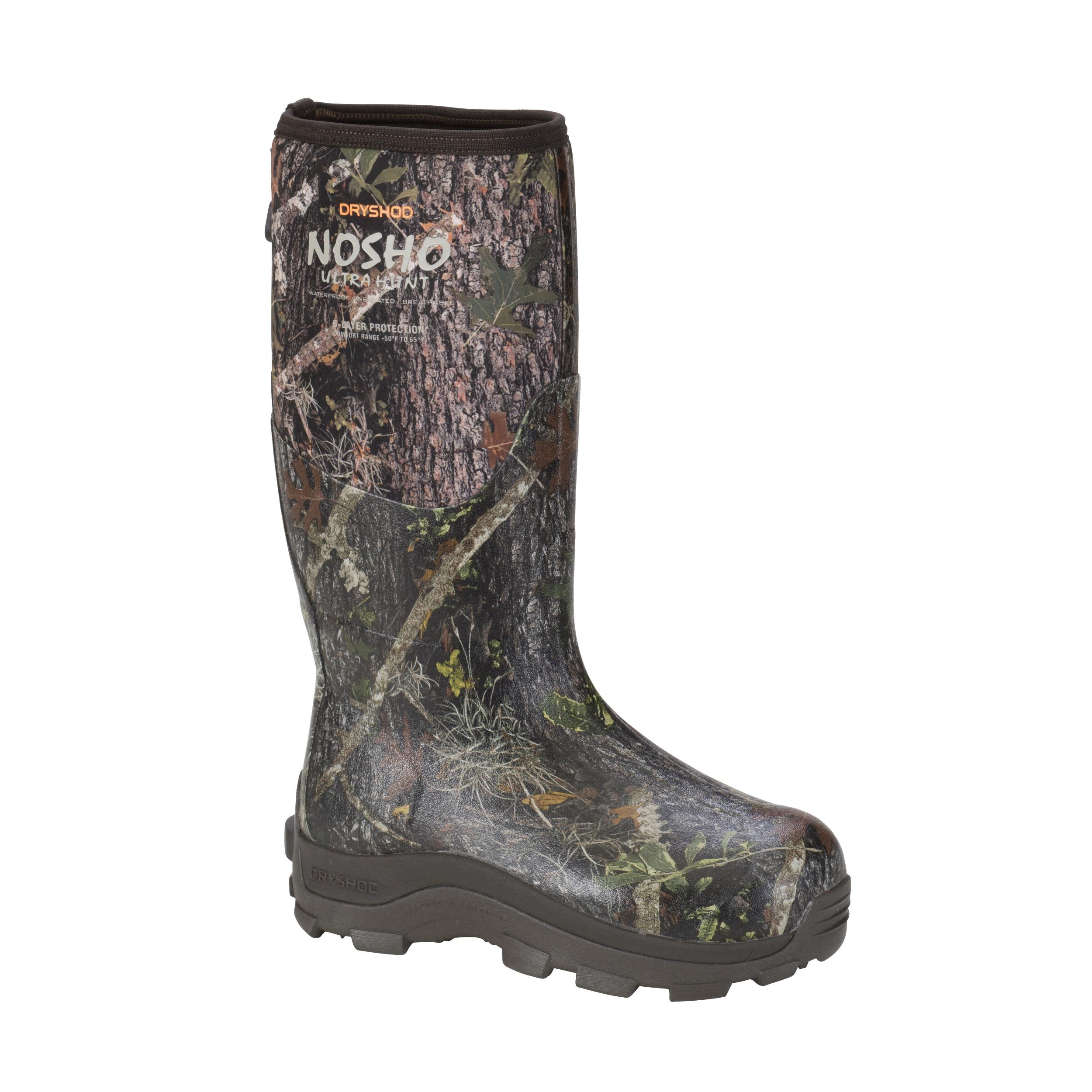 DRYSHOD Mens NoSho Ultra Hunt Camo Hunting Boot (MBM-MH-CM)