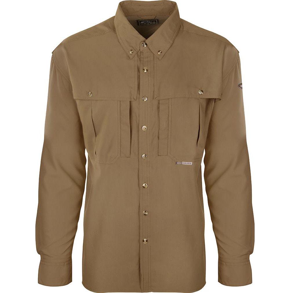 DRAKE Flyweight Wingshooters Long Sleeve Shirt