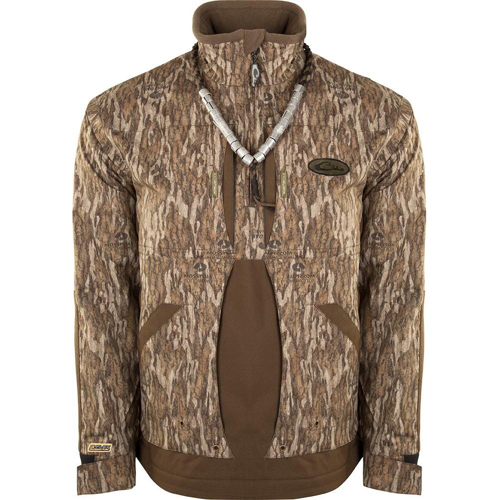 DRAKE Guardian Flex 1/4 Zip Fleece Lined Jacket