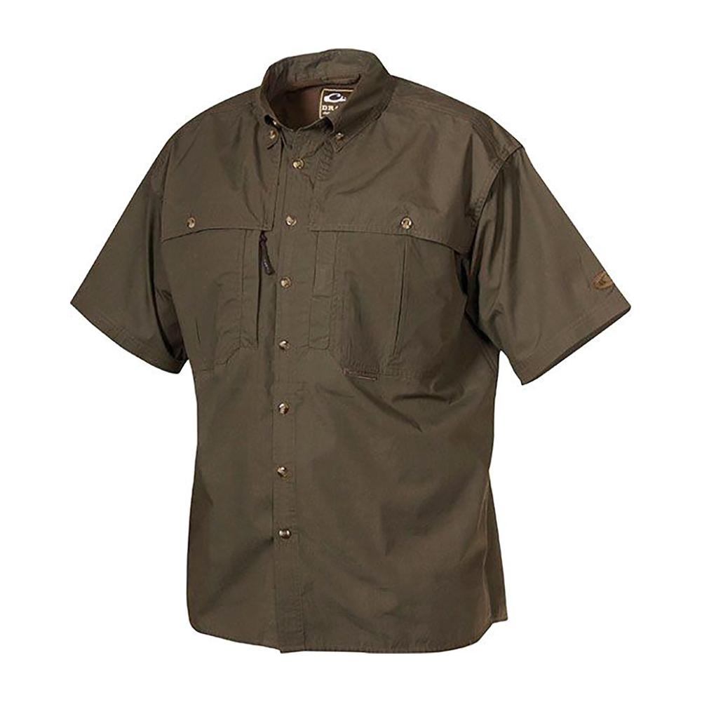 DRAKE Cotton Wingshooters StayCool Fabric SS Shirt