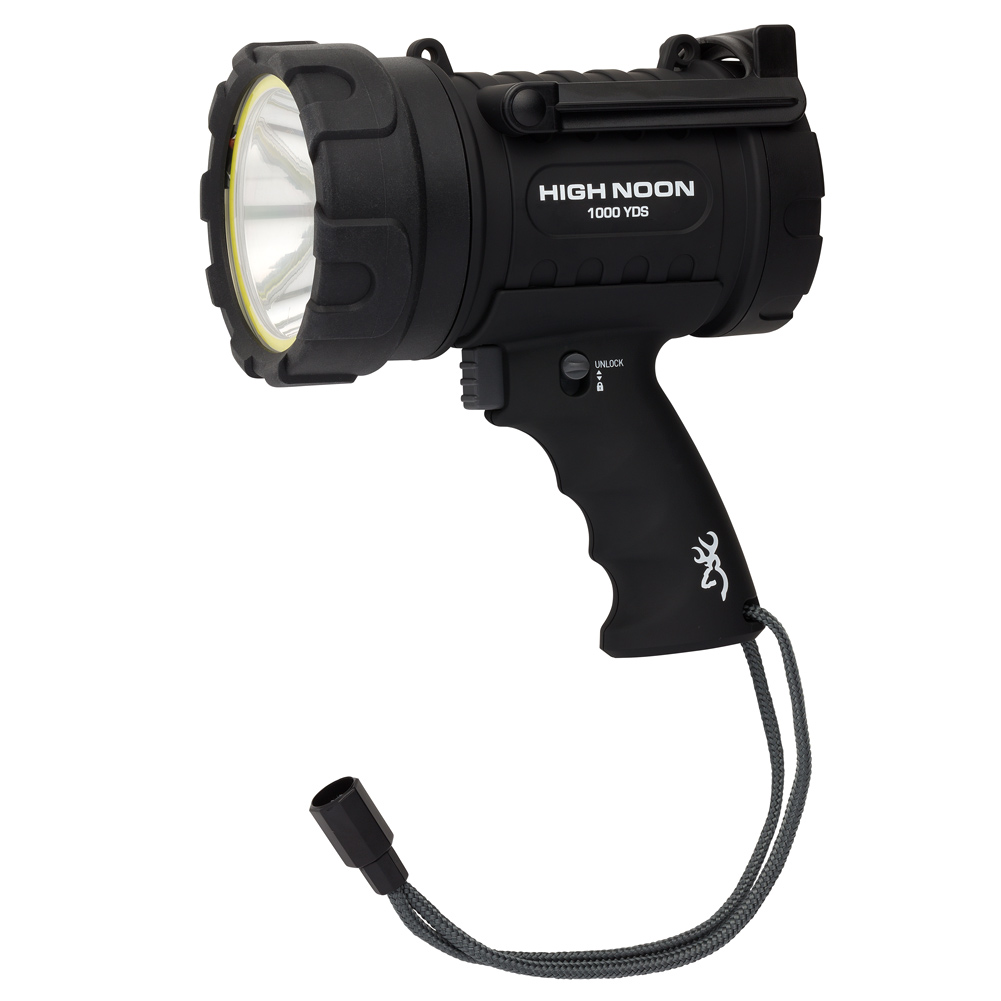 BROWNING High Noon Pro 1000 USB Rechargeable Spotlight with Power Bank (3717774)