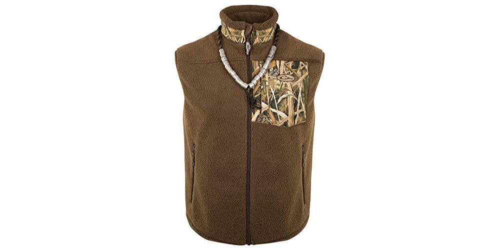 DRAKE MST Sherpa Fleece Hybrid Liner Vest (DW8620)