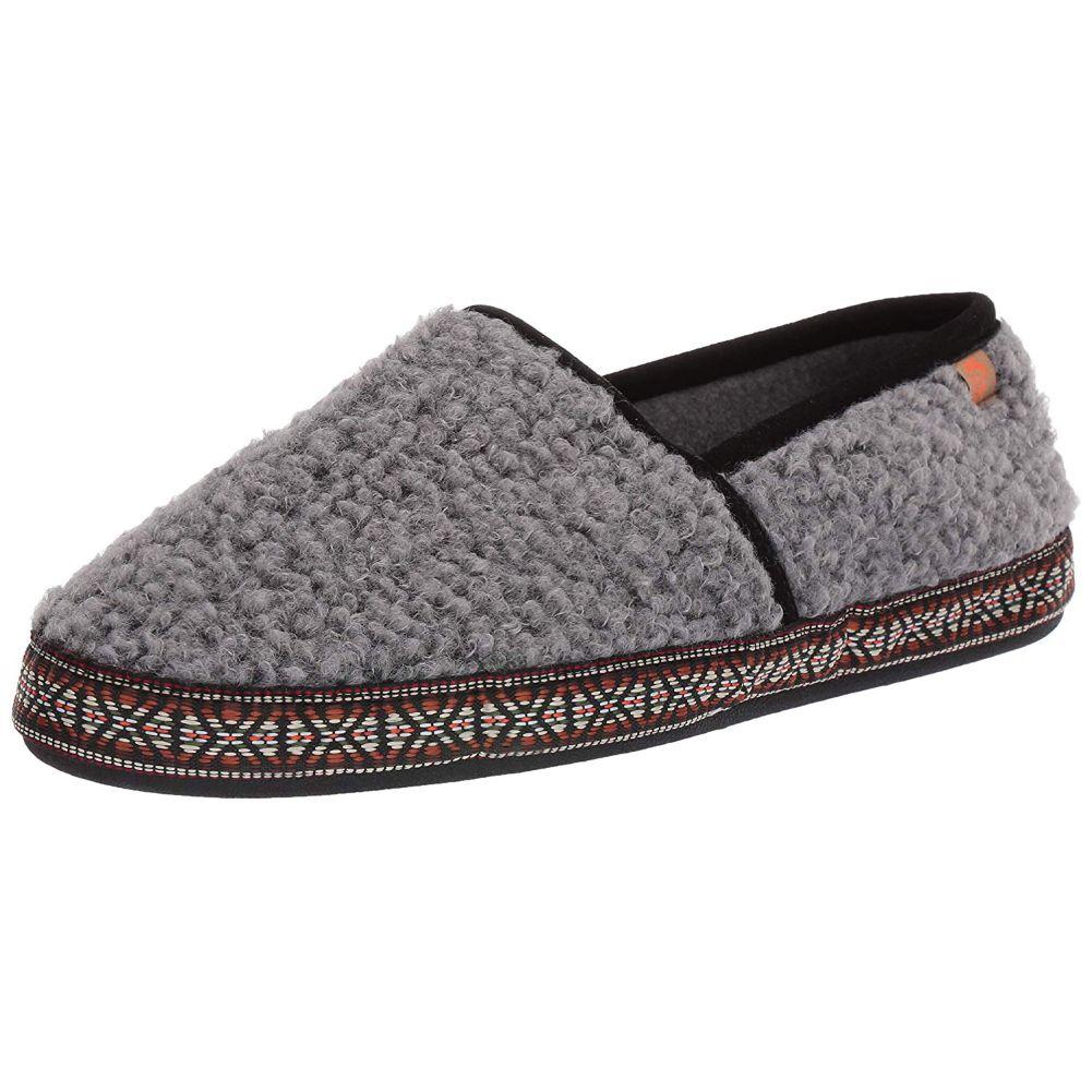 ACORN Woven Trim Moc Slippers