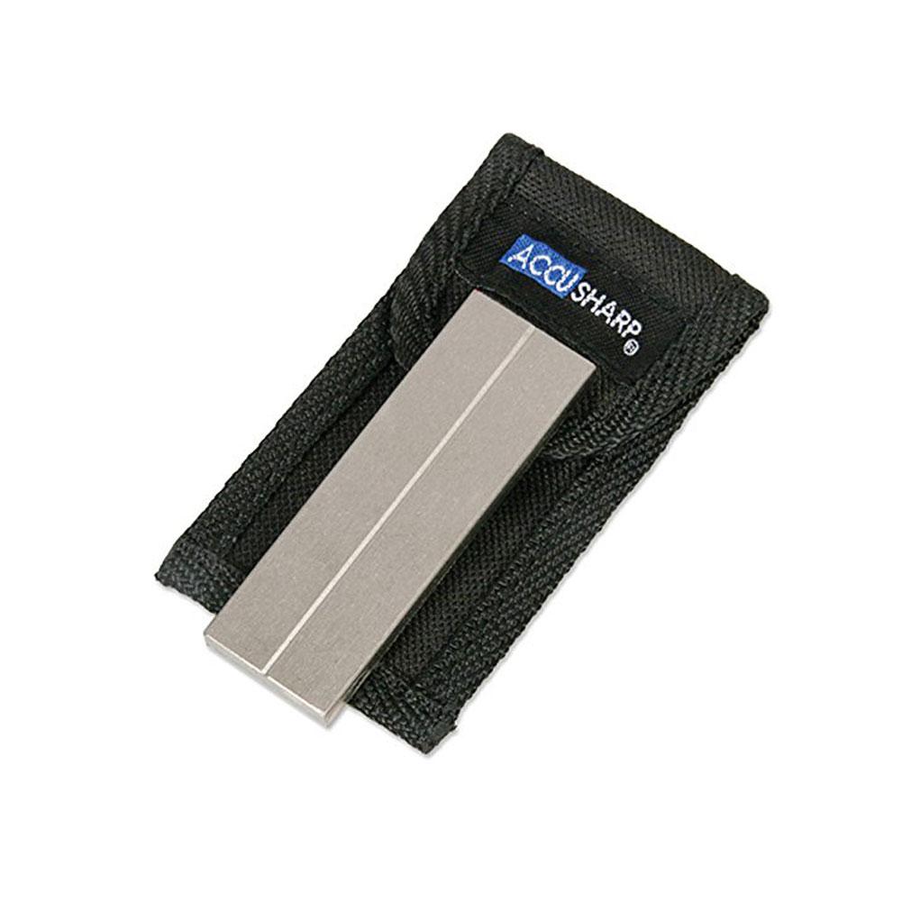 ACCUSHARP Diamond Pocket Stone with Pouch (027C)