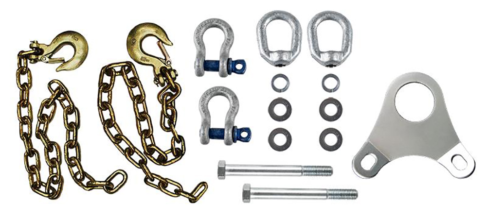 ANDERSEN Ultimate Connection Safety Chains with Plate (3249)