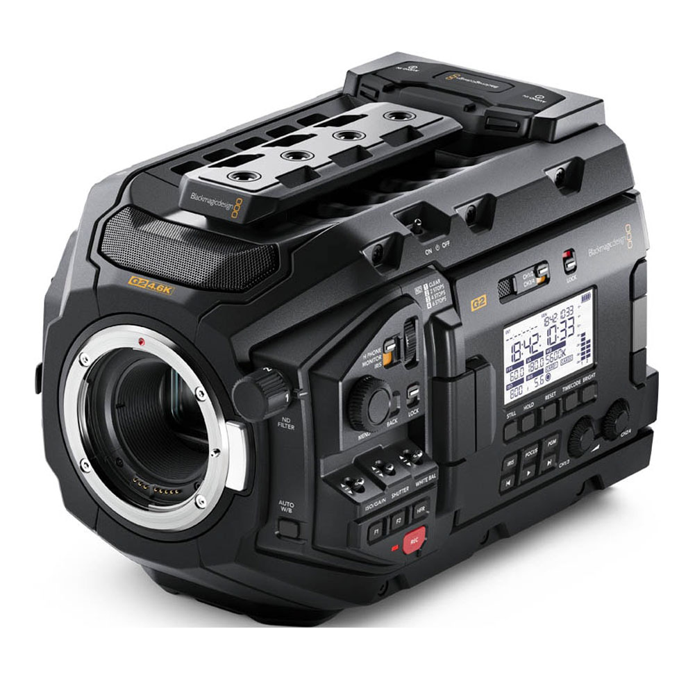 BLACKMAGIC DESIGN URSA Mini Pro 4.6K G2 Camera (BMD-CINEURSAMUPRO46KG2)