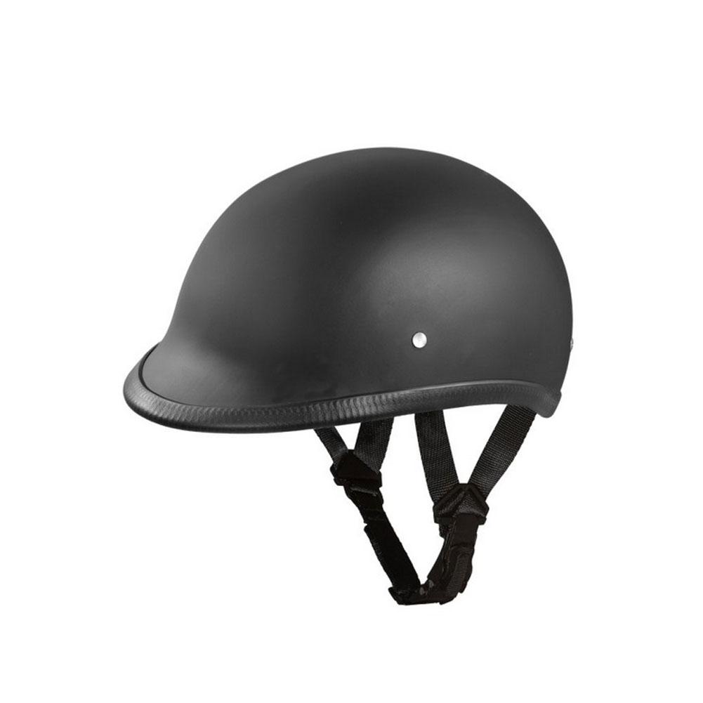 DAYTONA HELMETS D.O.T. Hawk Dull Black Helmet (H1-B)