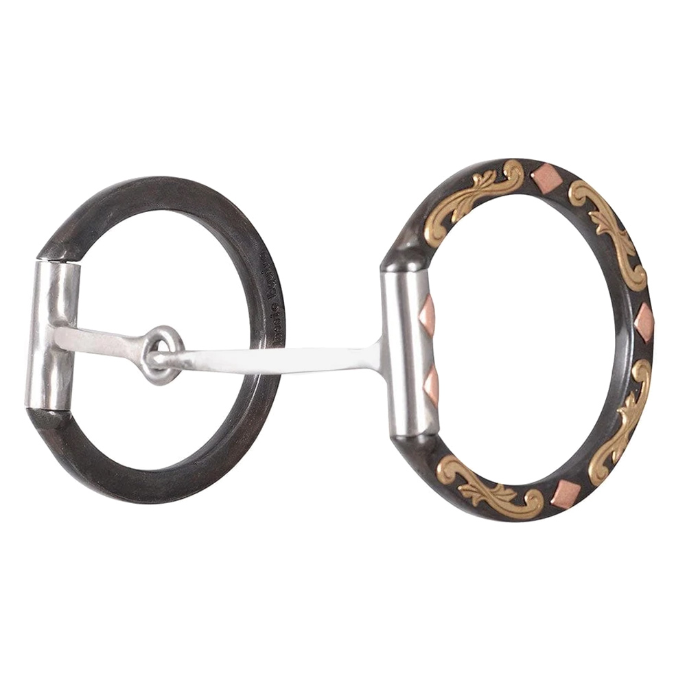 CLASSIC EQUINE Square Snaffle Diamond Dee Ring (BBIT3DDR29SS)
