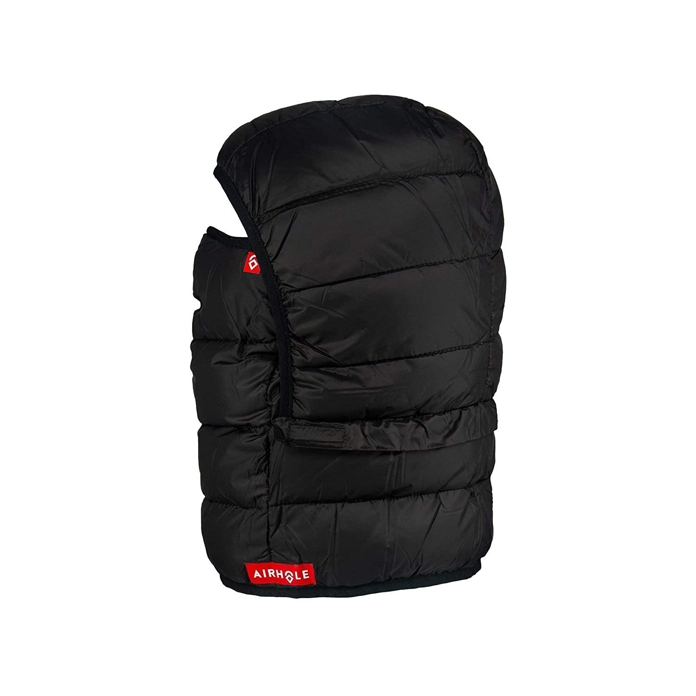AIRHOLE Airhood Packable Insulated Black Balaclava (AHB9IN-BLK)